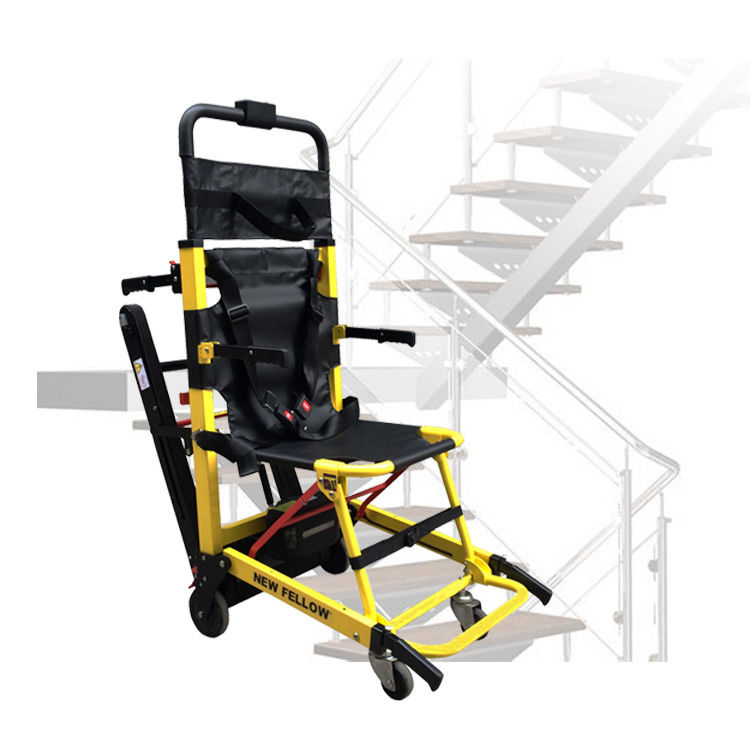 Small Electric Stairlift Portable Stair Climber Wheelchair Aluminum Alloy PVC Seat