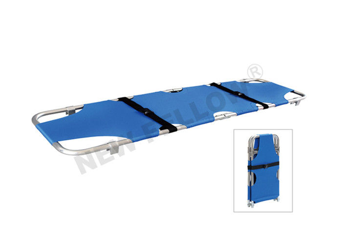 Foldable Emergency Evacuation Stretcher Patient Transfer Stretchers With Leg