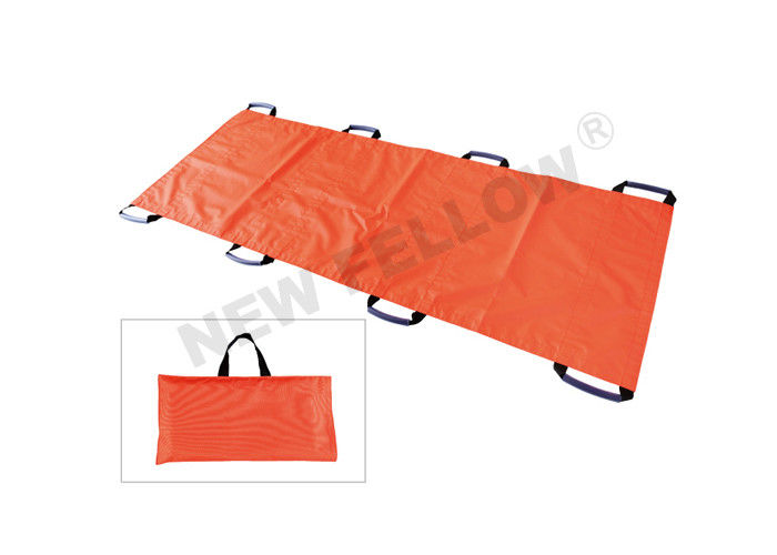 Professional Vacuum Mattress Stretcher Fold Up Stretcher With Carry Straps